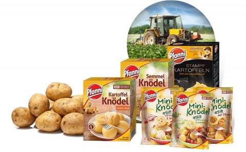 Pfanni potato products