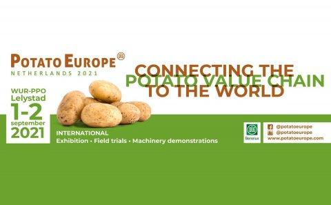 PotatoEurope zal worden gehouden op 1 en 2 september 2021 op de locatie van Wageningen University & Research in Lelystad