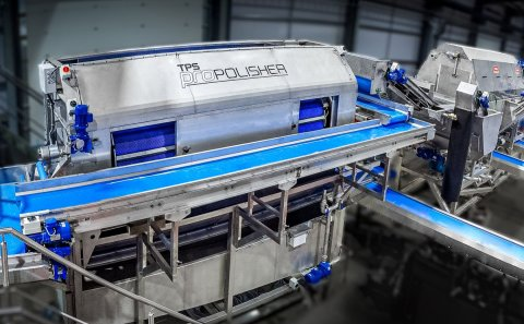 Tong introduces updates to its range of vegetable polishing equipment